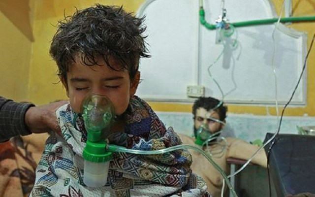 Ataque en la ciudad siria de Duma no fue con gas sarín - Foto de AFP