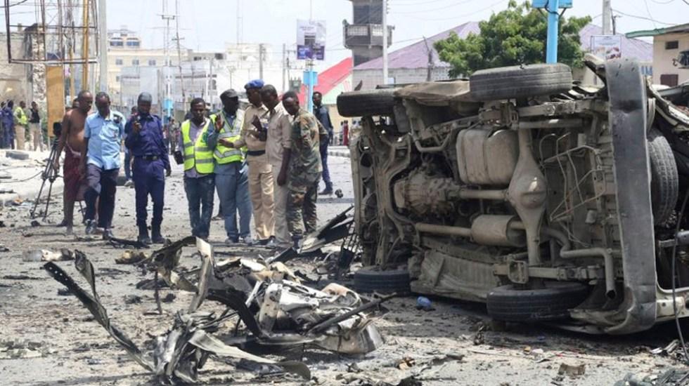 Atentado contra ministerio de Seguridad de Somalia deja 10 muertos - Foto de AP