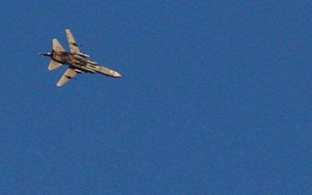 Israel derribe avión de combate sirio - Foto de Internet