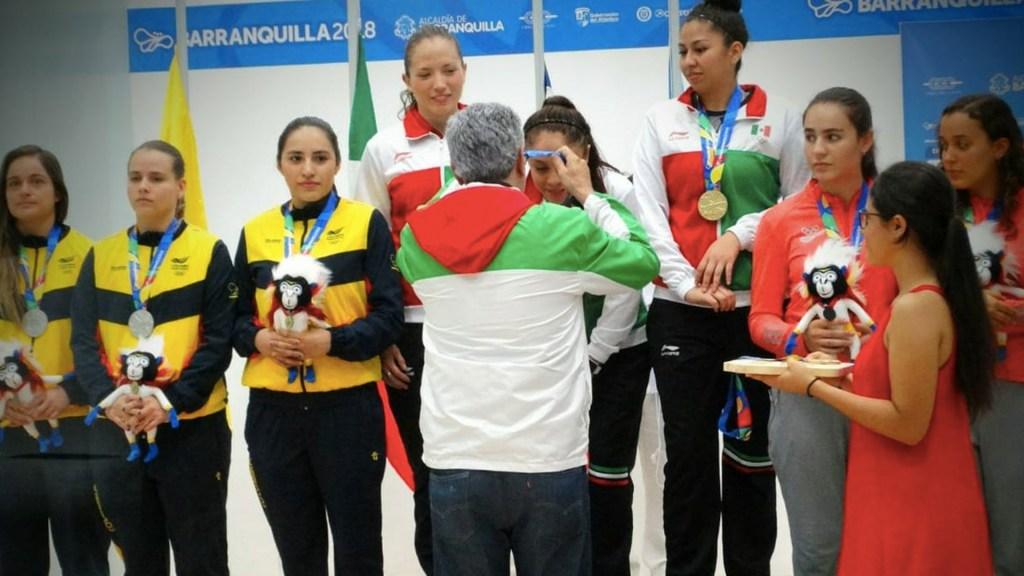 México alcanza las 100 medallas de oro en Barranquilla 2018 - Foto de Conade