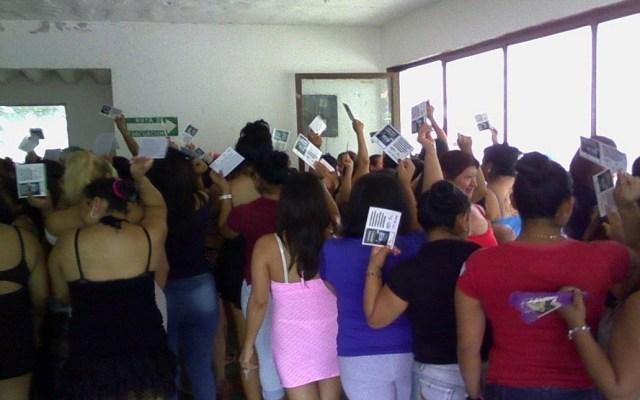 Brigada Callejera defiende a las trabajadoras sexuales contra la trata - Foto de @brigadaelisa