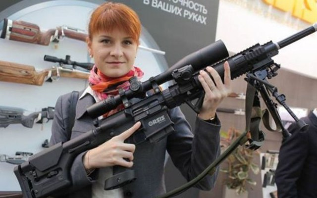EE.UU. asegura que mujer detenida es una espía rusa