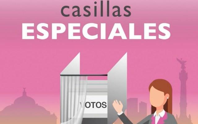 Instalan casillas especiales en hospitales para voto de pacientes - Foto de INE