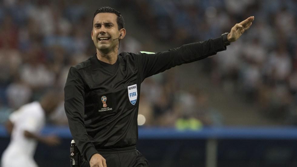 Árbitro mexicano pitará la semifinal del Mundial de Rusia - Foto de Mexsport