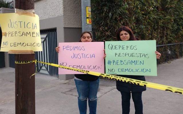 Claudia Sheinbaum se compromete a no demoler el Rébsamen - Foto de @alertasurbanas