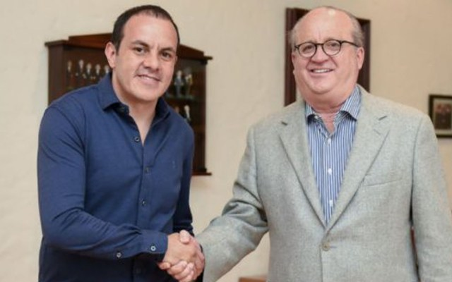 Cuauhtémoc Blanco auditará gobierno de Graco Ramírez