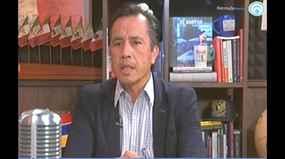 No toleraré que dejen un desastre en Veracruz: Cuitláhuac García