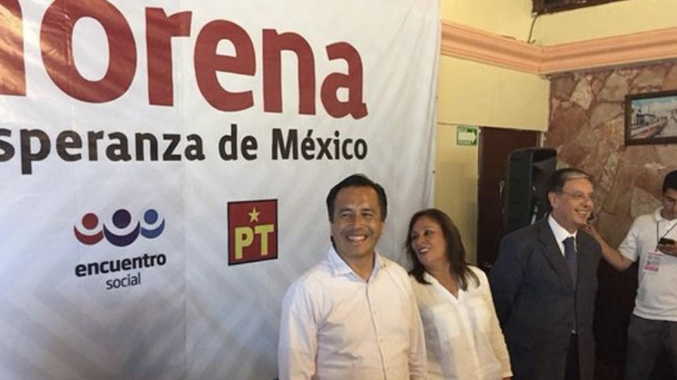 """""""Yo no tengo venganzas personales"""": Cuitláhuac García - Foto de Internet"""