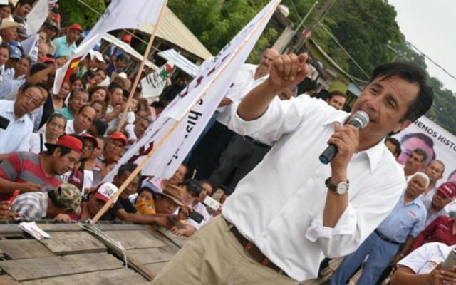 Nueva forma de política se inaugurará en Veracruz: Cuitláhuac García - Foto de Cuitláhuac García Jiménez