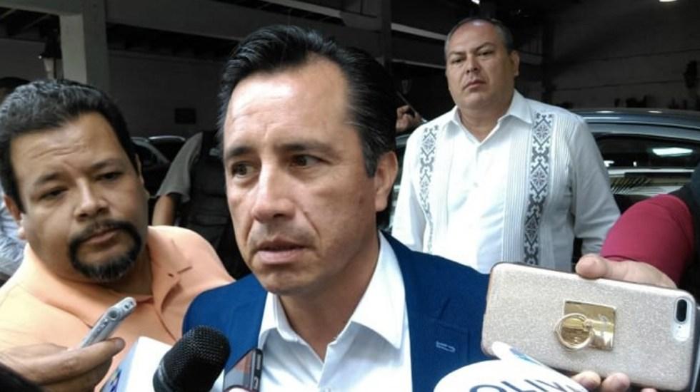 Cuitláhuac Garcia se dice dispuesto a reunirse con Yunes - Foto de Quadratín