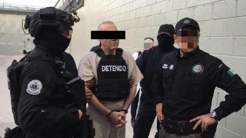 Ordenan mantener en la cárcel a Dámaso López - Foto de @PGR_mx