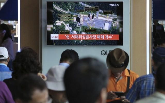 Pyongyang inicia el desmantelamiento de instalaciones nucleares - Foto de AP/Ahn Young-joon