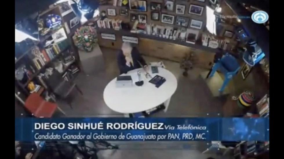 Hay que devolverle la paz y seguridad a guanajuatenses: Diego Sinhué