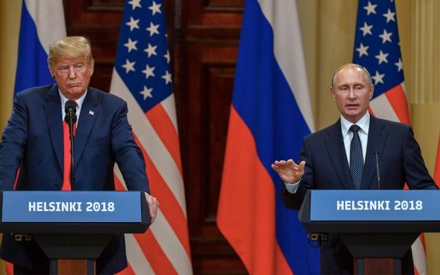 Trump y Putin podrían reunirse en París - Foto de AFP/Yuri Kadobnov