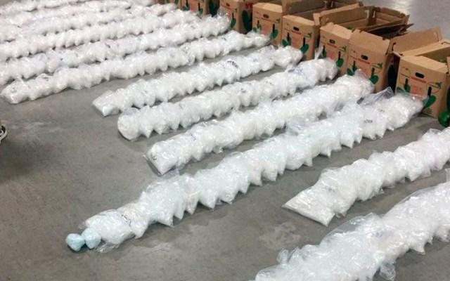 Aseguran 452 kilos de drogas en camión que transportaba chiles en Sonora - Foto de Nuevo Día