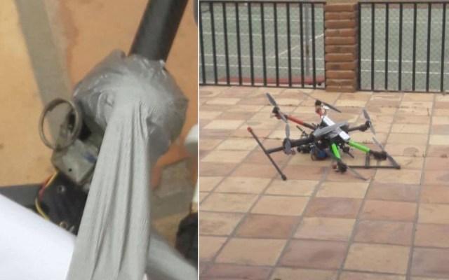 Cae dron con granadas en casa de secretario de Seguridad de BC - Foto de Secretaría de Seguridad Pública de Baja California