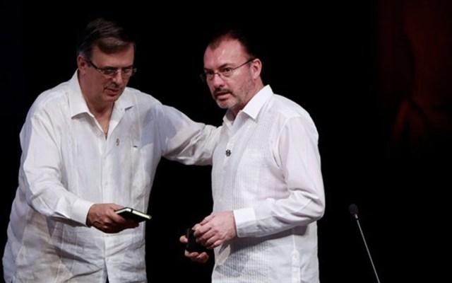 Ebrard y Videgaray se encuentran en cumbre en Puerto Vallarta - Foto de EFE