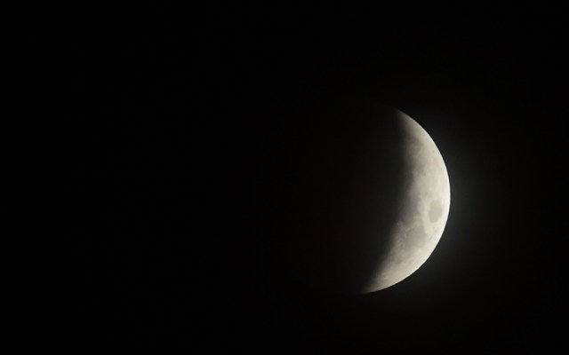 El 20 de enero podrá observarse eclipse lunar total en México - Foto de AFP
