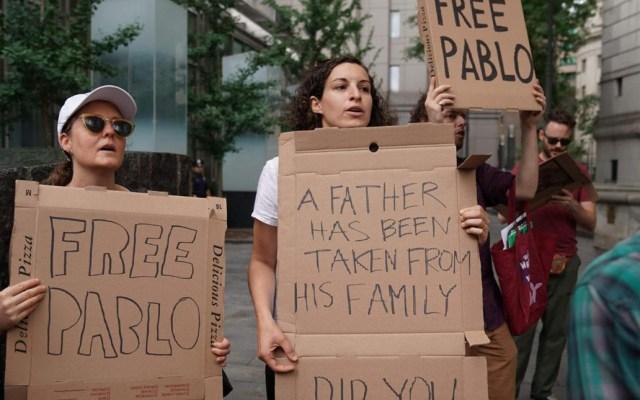 Pedirán a juez cancelar deportación de repartidor de pizza en Nueva York