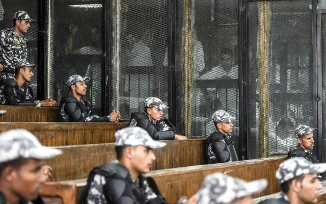 Tribunal en Egipto condena a 75 personas con pena de muerte - Foto de AFP