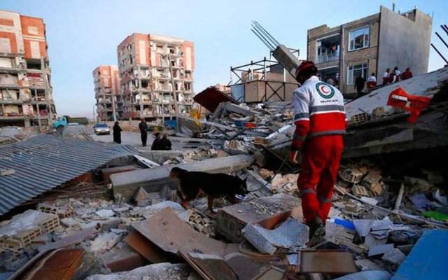 Elevan a 287 cifra de heridos por sismo de 5.9 en Irán - Foto de Twitter