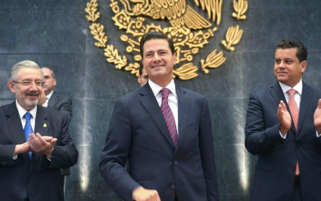 Peña Nieto conversa con Donald Trump sobre renegociación del TLC - Foto de Presidencia