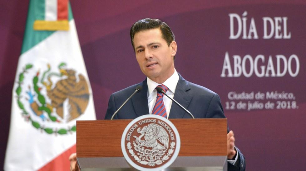 Peña Nieto garantiza seguridad y orden en transición presidencial - Foto de Presidencia