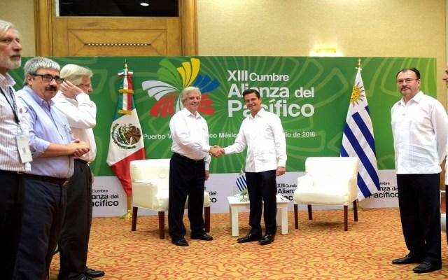 EPN sostiene encuentros privados con presidentes de Latinoamérica - Foto de @EPN
