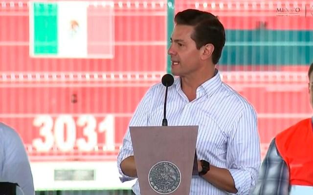 Peña Nieto destaca creación de empleos formales en su sexenio - Foto de @SCT_mx