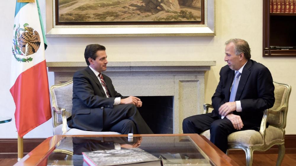Peña Nieto celebra convicción democrática de Meade - Foto de @EPN