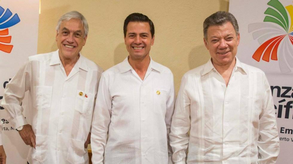"""""""Hay vida después de la Presidencia"""": Piñera a EPN - Foto de EPN"""