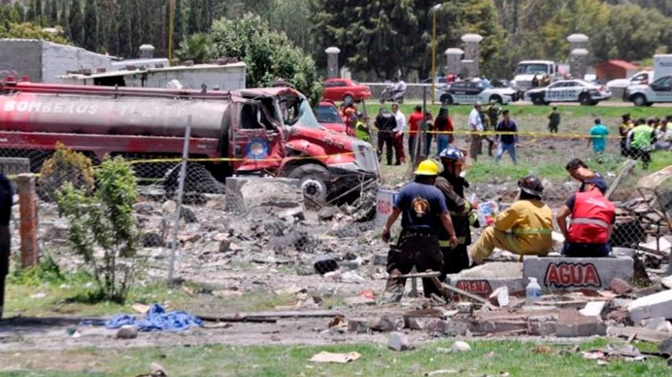 Dan de alta a 13 lesionados tras explosiones en Tultepec - Foto de @edomexinforma_