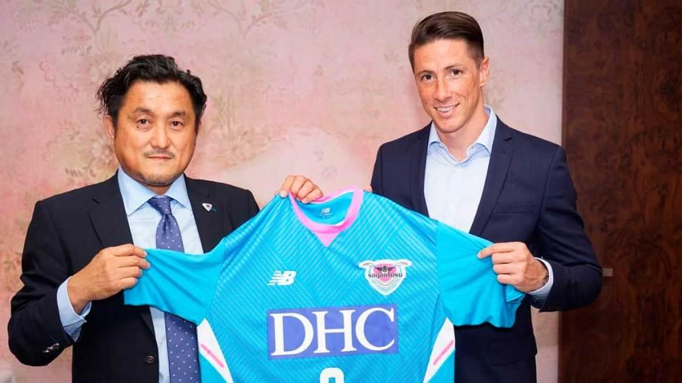 Fernando Torres firma con el Sagan Tosu japonés - Foto de @saganofficial17