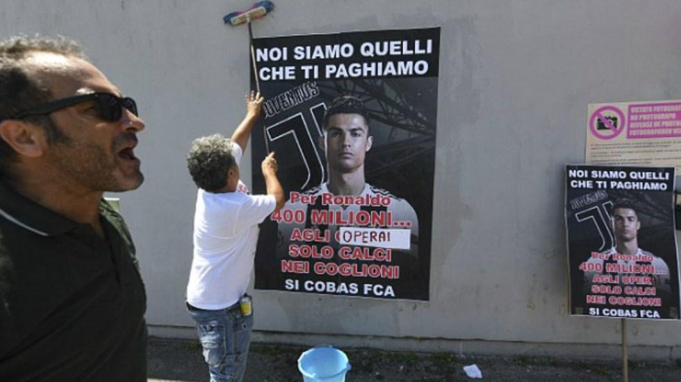 Trabajadores de Fiat llaman a huelga por compra de Cristiano Ronaldo - Foto de IPA / WENN.com