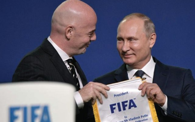 Vladimir Putin asistirá a clausura de Rusia 2018