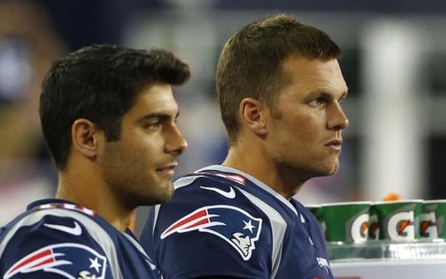 Siempre he pensado que soy mejor que Brady: Garoppolo
