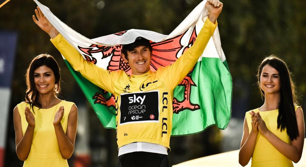 Geraint Thomas es el nuevo campeón del Tour de Francia - Foto de Marco Bertorello/AFP