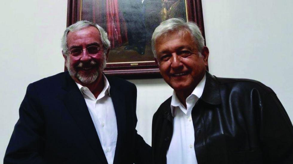 AMLO se reúne con Enrique Graue en casa de campaña
