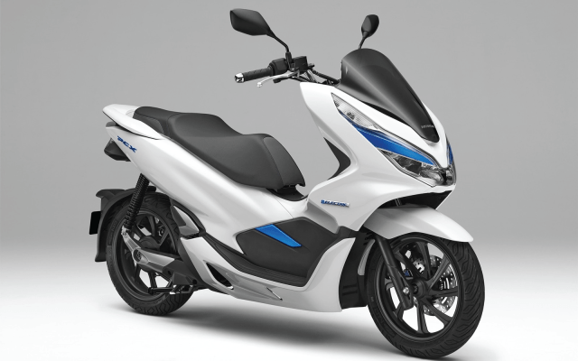 La primera motocicleta híbrida