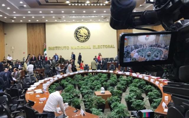 Aprueba INE coalición de Morena, PT y PVEM para contender en Puebla - Foto de INE