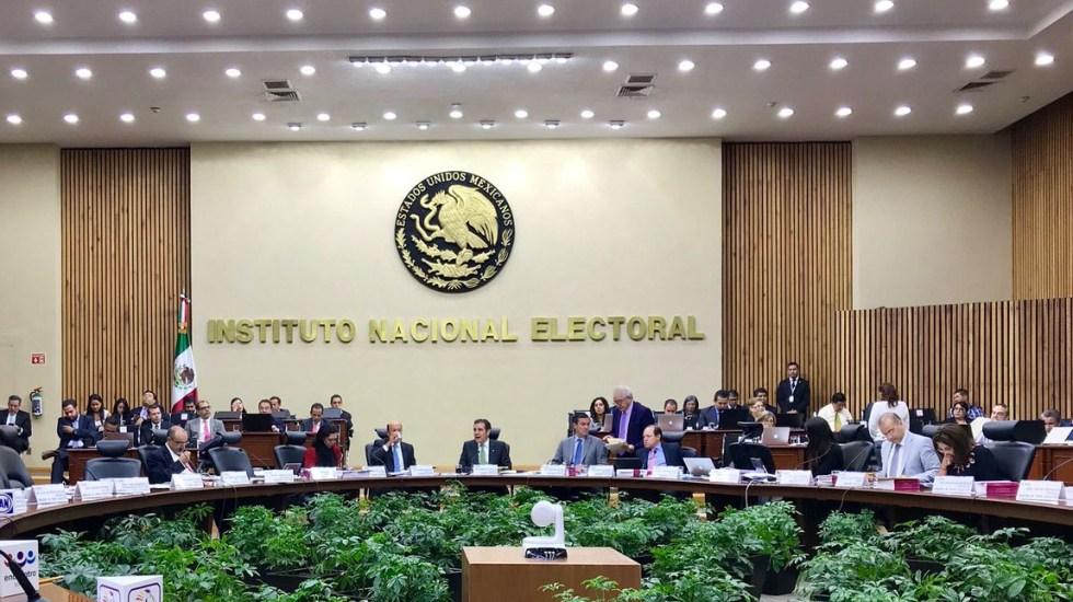 INE pospone pérdida de registro de partidos - Foto de internet