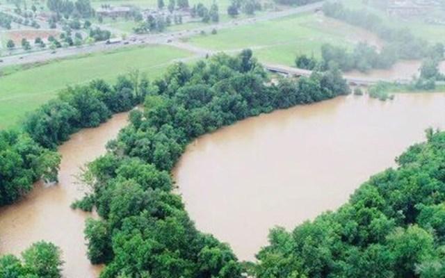 Se desborda río en Pennsylvania por lluvias