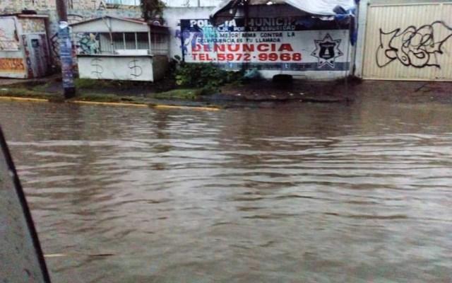 #Video Lluvias desbordan canal en Ixtapaluca - Foto de Informa Edomex