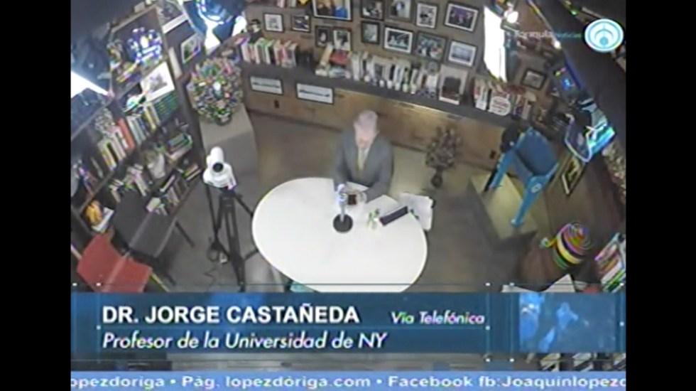 Ebrard es una persona con mundo: Jorge Castañeda