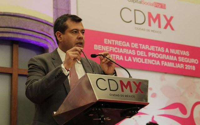 Amieva urge modificación de Presupuesto de Egresos para reconstrucción - José Ramón Amieva. Foto de @amievajoserra
