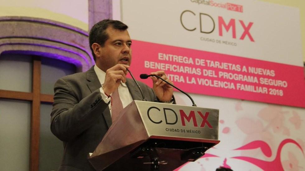Corte de agua del sistema Cutzamala es un tema de emergencia: Amieva - José Ramón Amieva. Foto de @amievajoserra