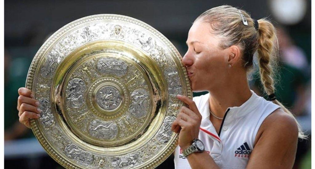 Angelique Kerber se corona en Wimbledon tras vencer a Serena Williams