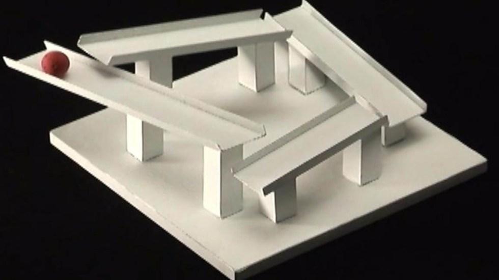 Kokichi Sugihara, el profesor que hace ilusiones ópticas con matemáticas - Foto de internet