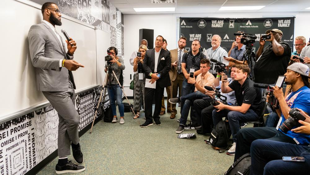 El legado que dejó LeBron James a su natal Cleveland - Foto de AFP