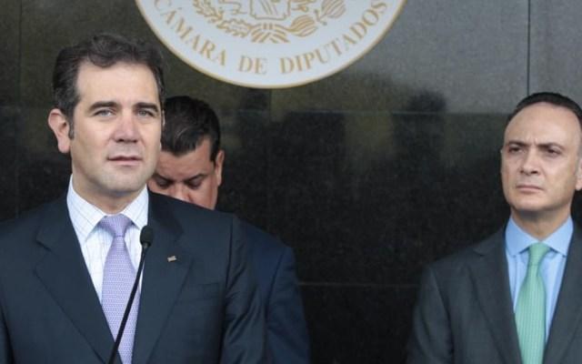 Identifica INE al partido político que filtró Lista Nominal de Electores - Foto de Twitter Lorenzo Córdova